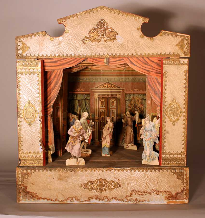 A Children miniature theatre with stage - photo 1
