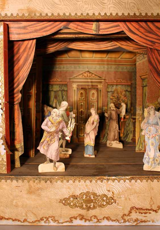 A Children miniature theatre with stage - photo 2