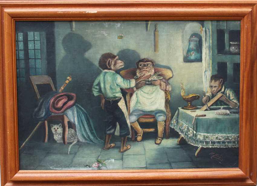 Surrealist 20th Century, The barber - photo 1