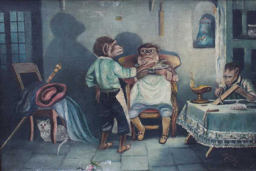 Surrealist 20th Century, The barber - photo 2