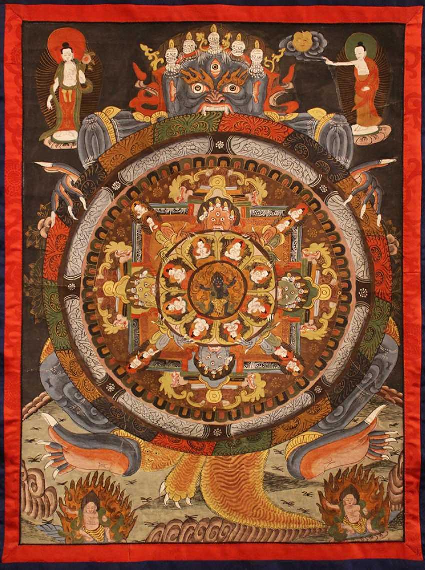 An Indochinese thangka - photo 2