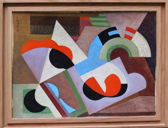 Bela De Kristo (1920-2006), Cubistic composition around 1950 - photo 1
