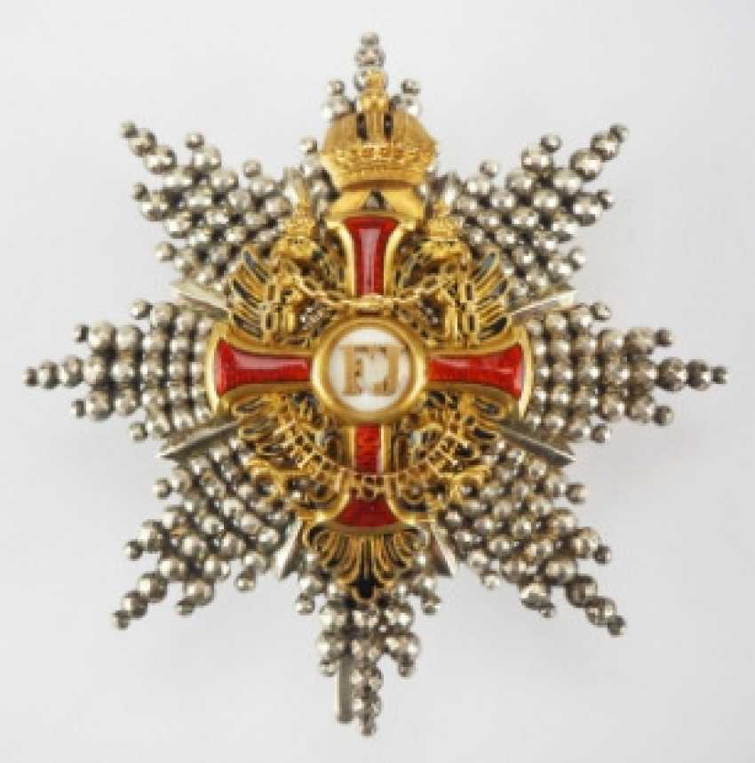 Austria: Imperial Austrian Franz-Joseph-Orden, Comtur Star, 1. Type (1849-1872) - photo 1