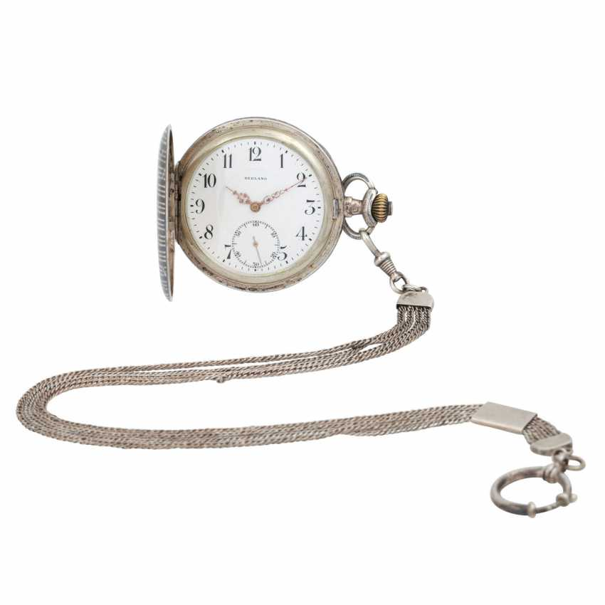 SEELAND pocket watch with watch chain, - photo 1