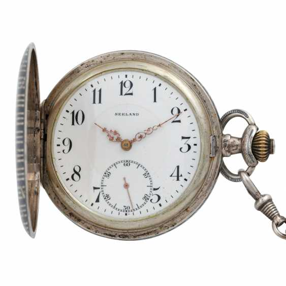 SEELAND pocket watch with watch chain, - photo 2
