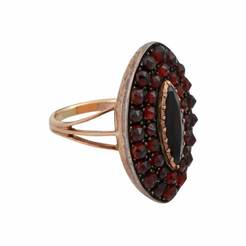 Ring with grenades, - photo 2