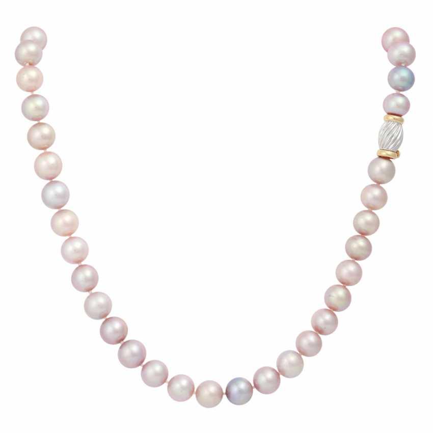 Set necklace with bracelet - photo 1