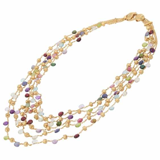 MARCO BICEGO necklace with precious stones - photo 3