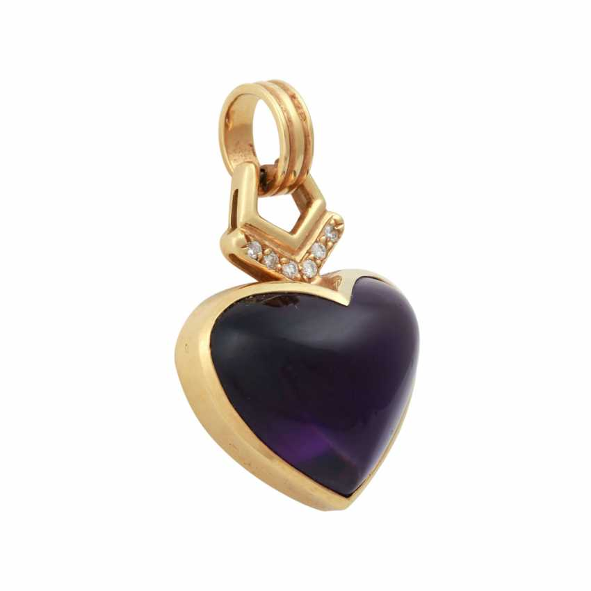 H. STERN pendant with Amethyst - photo 2