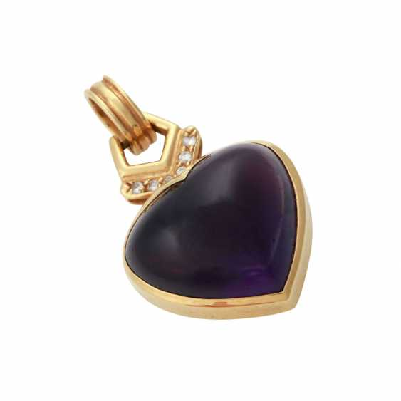 H. STERN pendant with Amethyst - photo 4