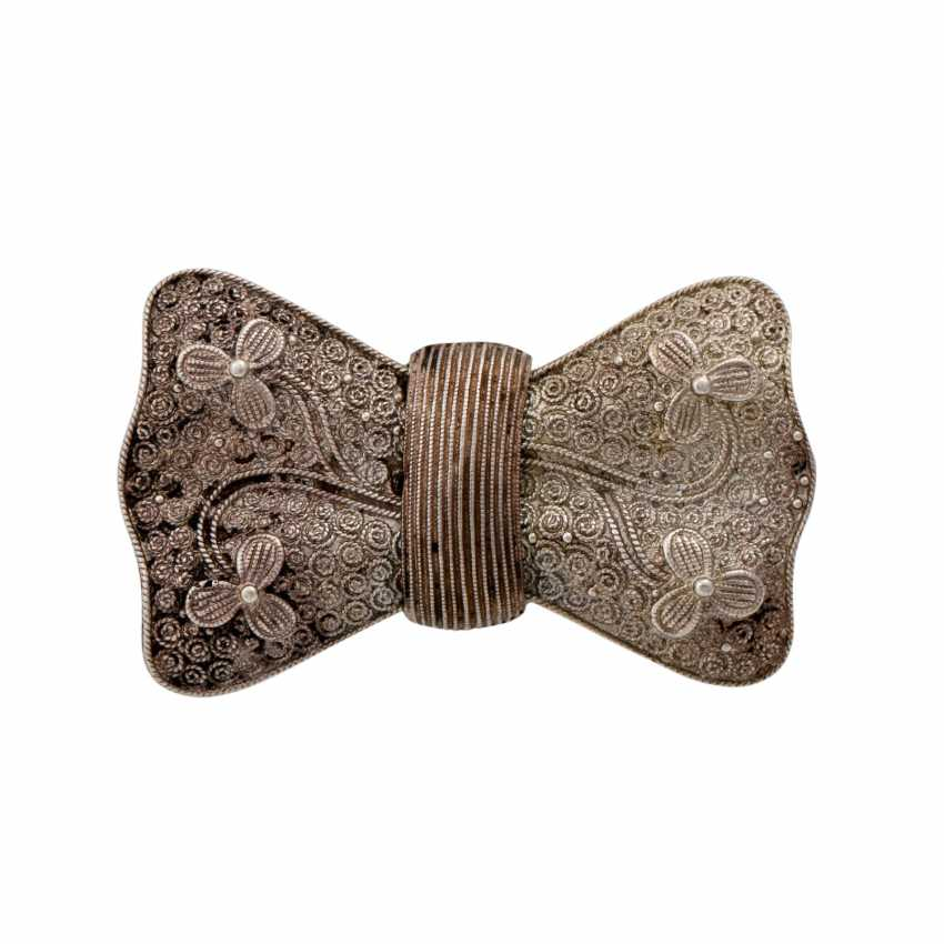 THEODOR FAHRNER set of 3 brooches, - photo 4