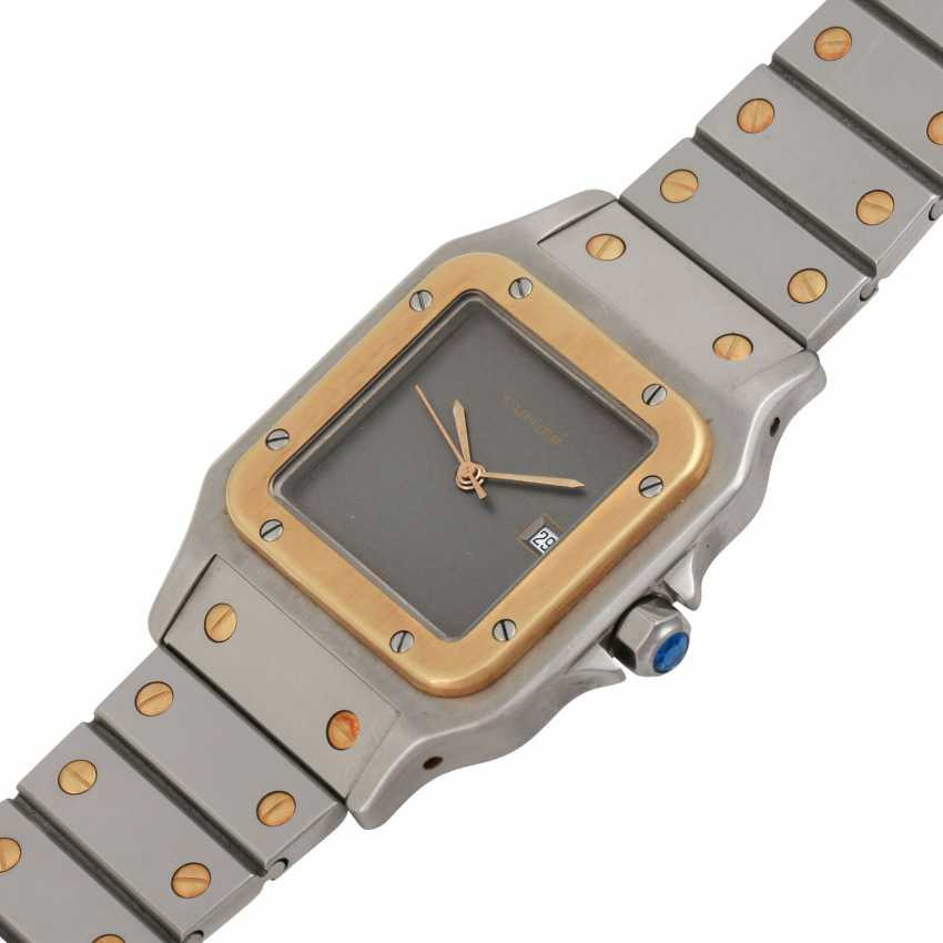 CARTIER Santos Vintage. Watch. - photo 4