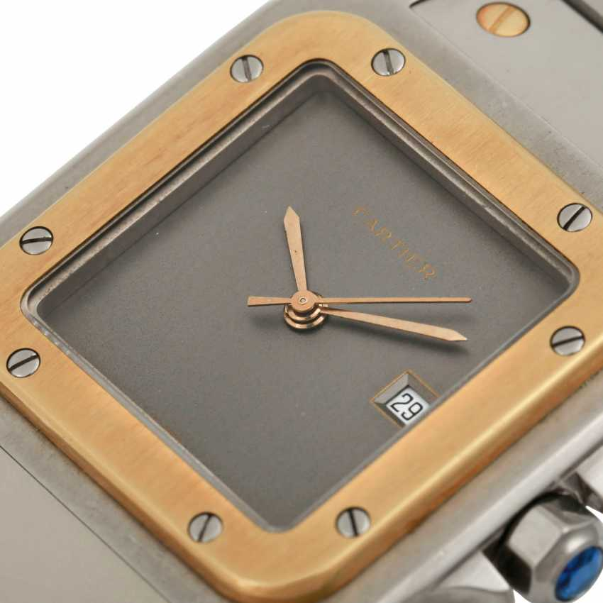 CARTIER Santos Vintage. Watch. - photo 5