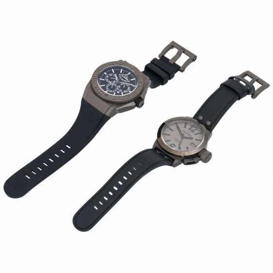 TW STEEL set of 2 bracelet watches, - photo 1