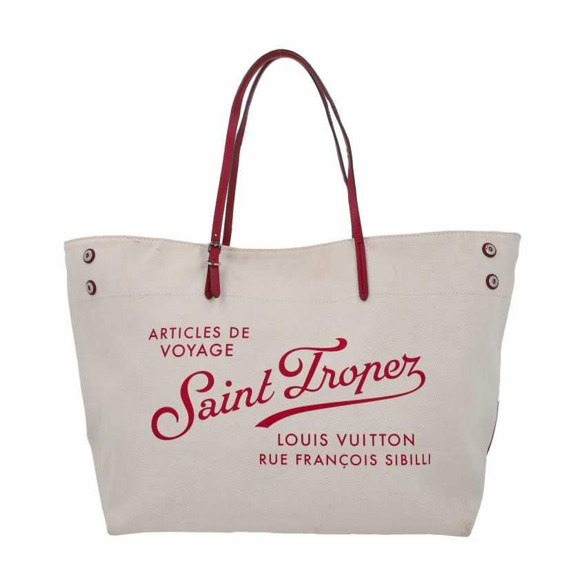 "LOUIS VUITTON Shopper ""NEVERFULL SAINT TROPEZ"", Kollektion 2014. - photo 1"