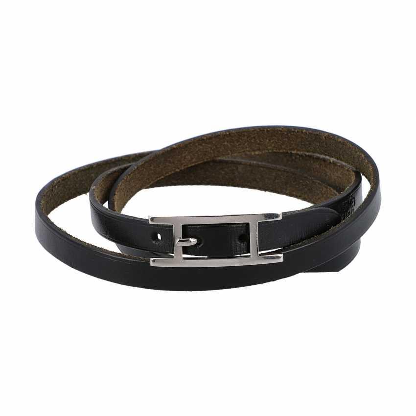 """HERMÉS bracelet """"BEHAPI DOUBLE TOUR"""", current new price: 295,-€. - photo 1"""