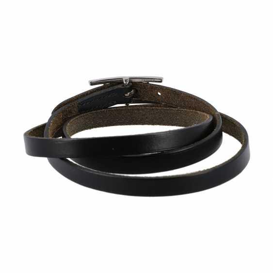 """HERMÉS bracelet """"BEHAPI DOUBLE TOUR"""", current new price: 295,-€. - photo 2"""