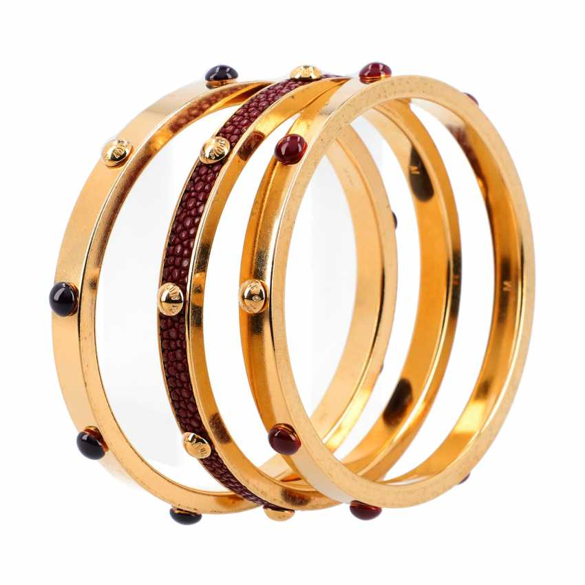 LOUIS VUITTON bangle Set, collection 2011. - photo 3