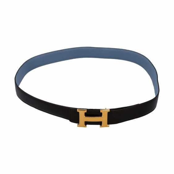 HERMÈS reversible belt, length: 110cm. 2012 collection. - photo 1