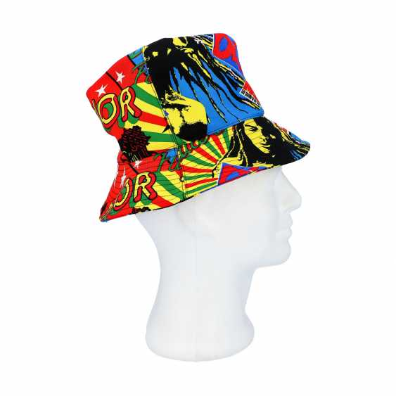 "CHRISTIAN DIOR hat ""BOB MARLEY"", Size 57. - photo 3"