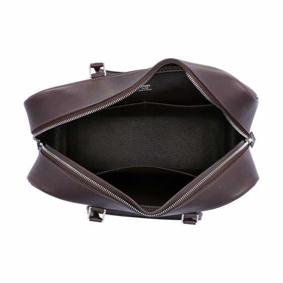 "HERMÈS handbag ""PLUME 32"", collection 2006. - photo 6"