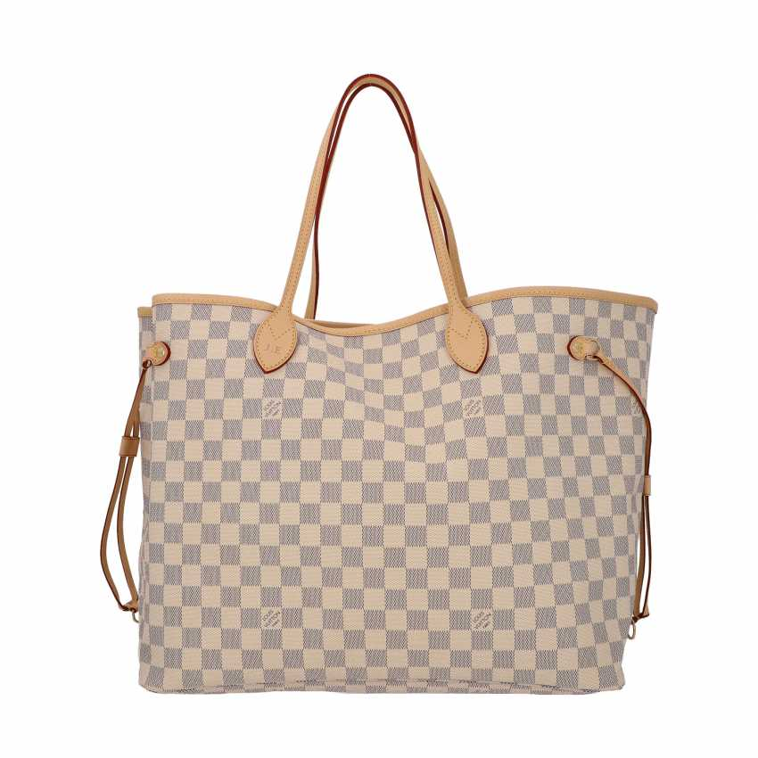 """LOUIS VUITTON shopper tote bag """"NEVERFULL GM"""", collection 2019. - photo 1"""