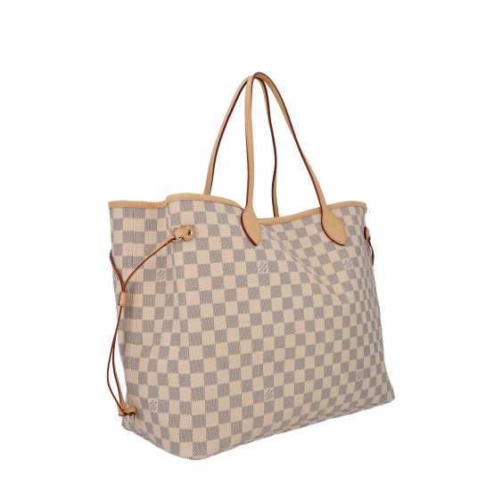 """LOUIS VUITTON shopper tote bag """"NEVERFULL GM"""", collection 2019. - photo 2"""