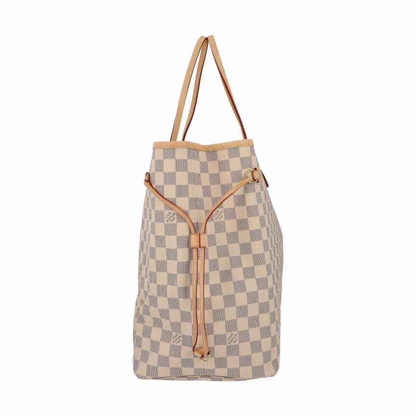 """LOUIS VUITTON shopper tote bag """"NEVERFULL GM"""", collection 2019. - photo 3"""