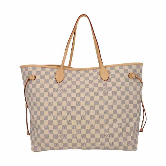"""LOUIS VUITTON shopper tote bag """"NEVERFULL GM"""", collection 2019. - photo 4"""