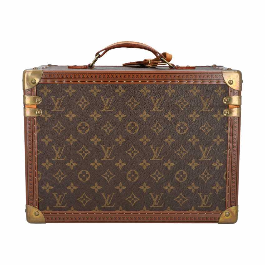 "LOUIS VUITTON VINTAGE cosmetic case ""BOITE PHARMACIE"". Current Price: 6.200,-€. - photo 4"