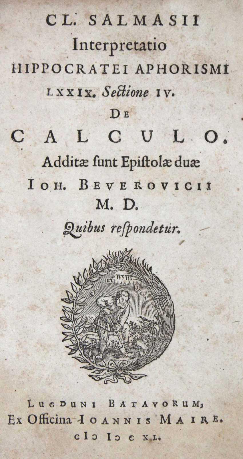Salmasius, C. - photo 1