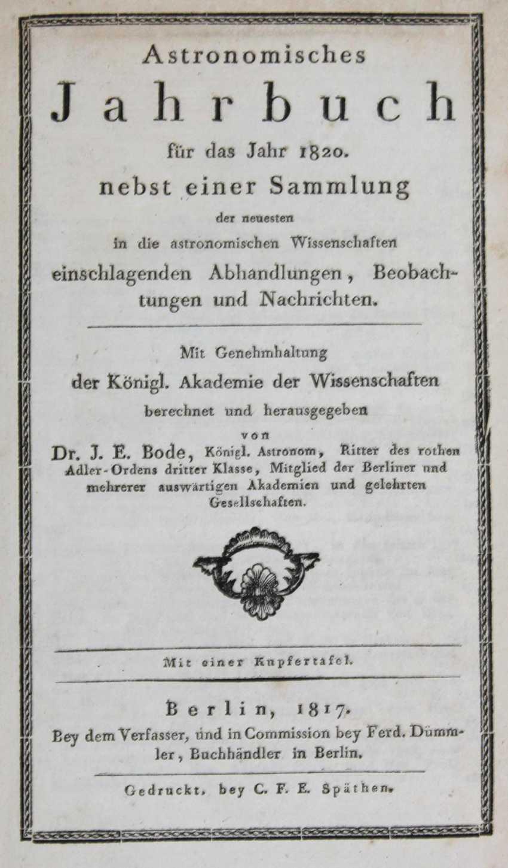 Bode, J. E. (Editor). - photo 1