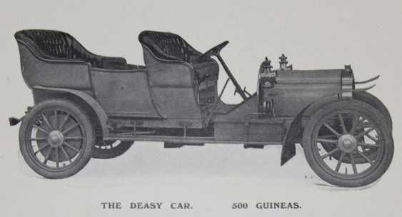 Deasy Motor Car Manufacturing. - photo 1