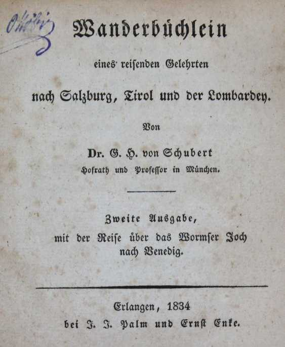 Schubert, G. H. v. - photo 1