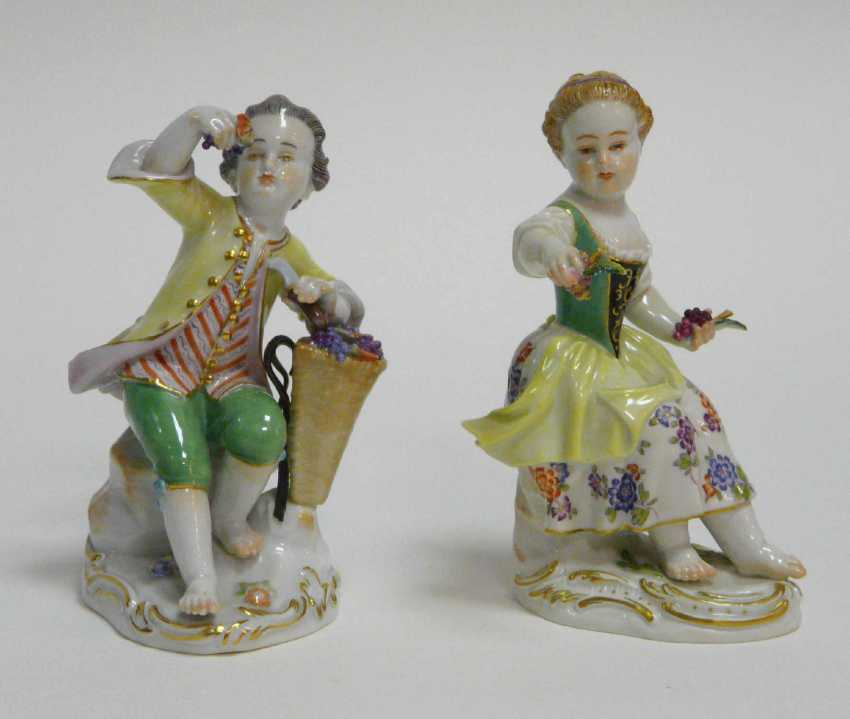 Two Gardener's Children Meissen - photo 4
