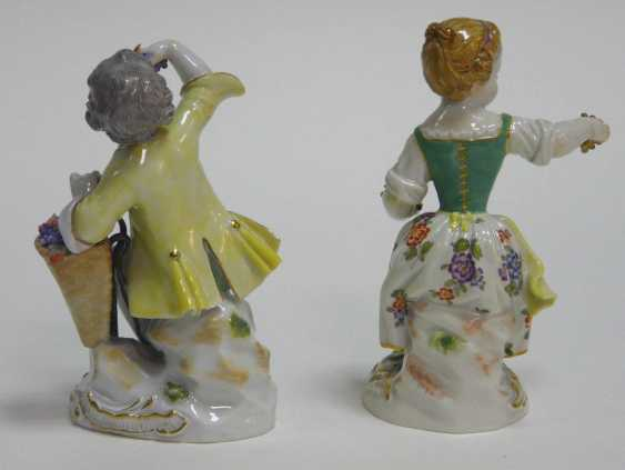 Two Gardener's Children Meissen - photo 2