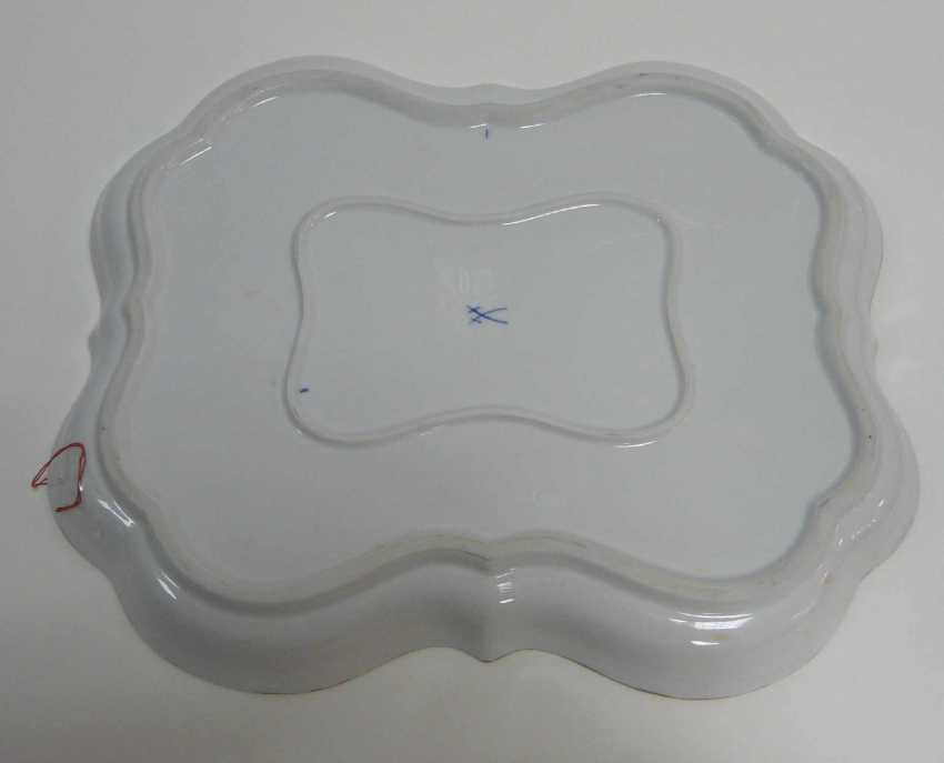 Large Tray, Meissen - photo 2