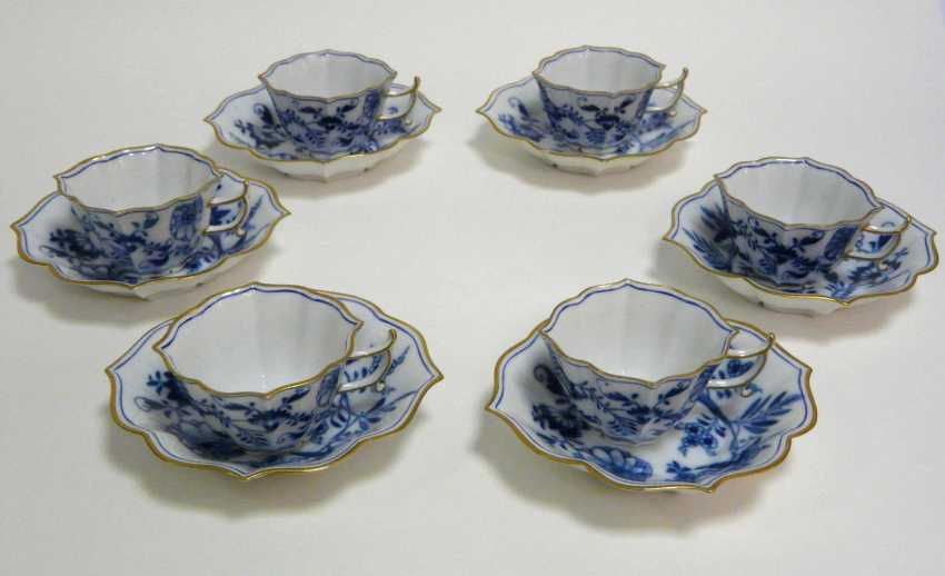 Six Meissen Cups - photo 1