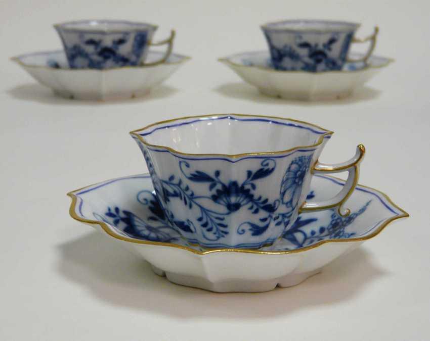 Six Meissen Cups - photo 2