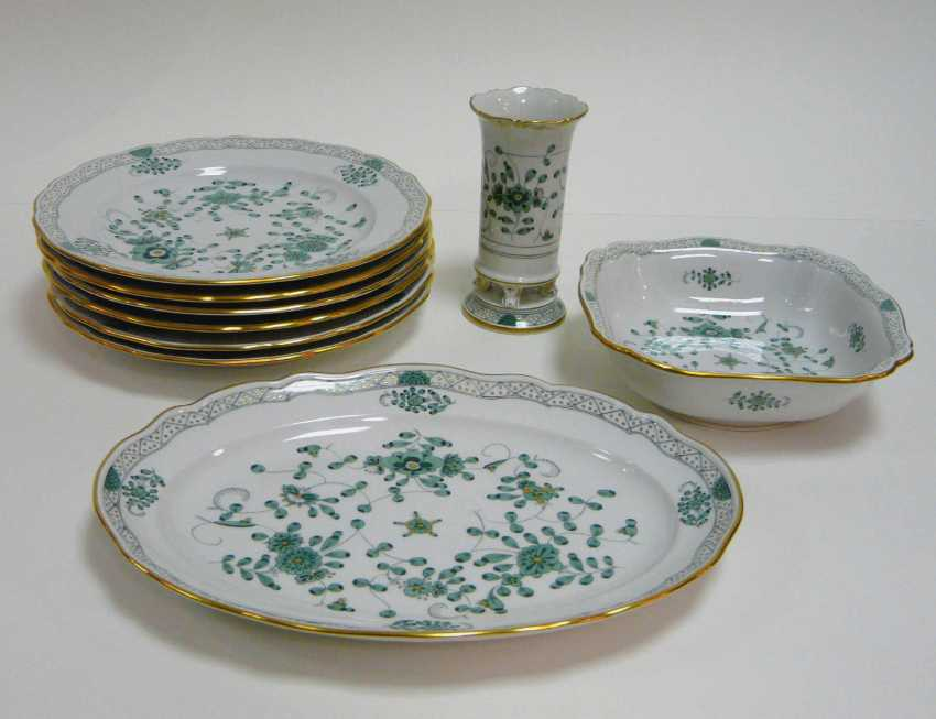 Vintage Meissen Indian Green - photo 1