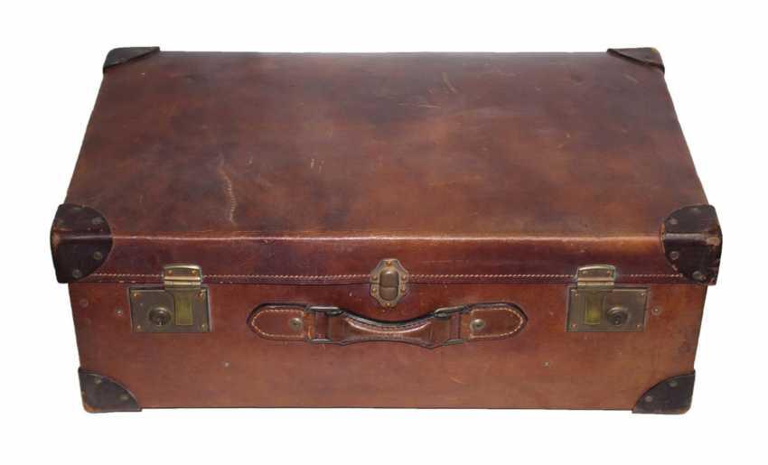 Suitcase, Leather Suitcase - photo 1