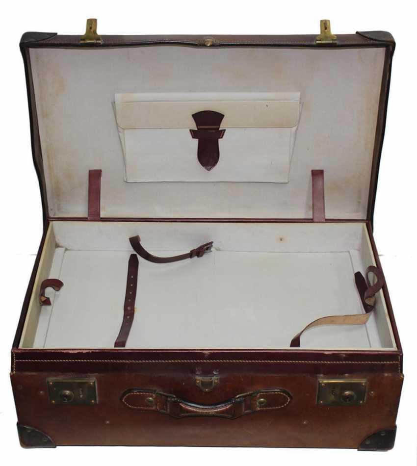 Suitcase, Leather Suitcase - photo 2
