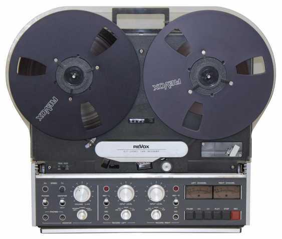 Revox B77 Tape Recorder - photo 1