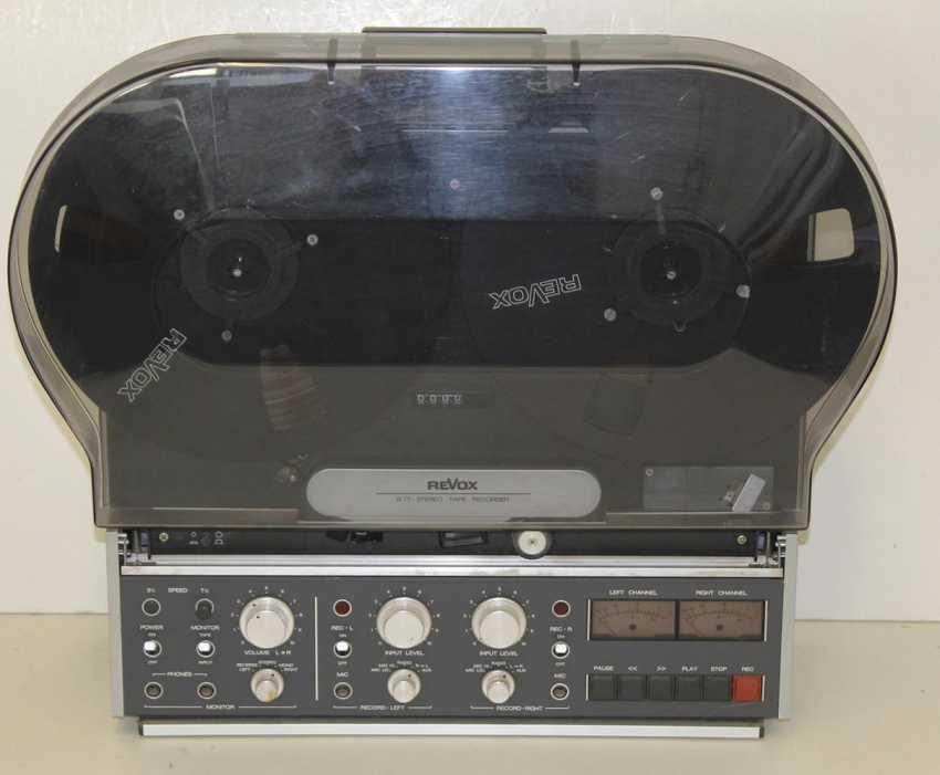 Revox B77 Tape Recorder - photo 2