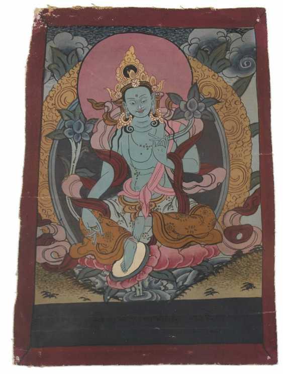 A small Thangka of Tara - photo 1