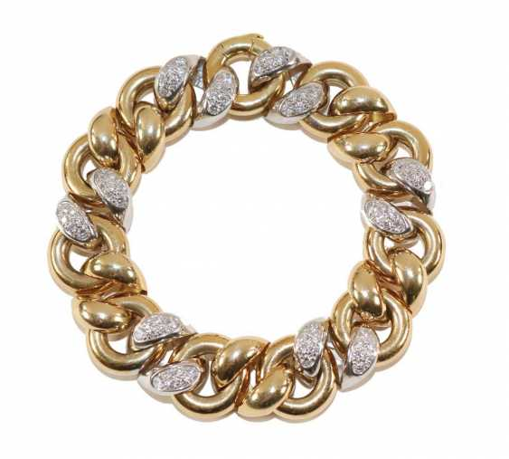 Diamantarmband 750 Gelbgold/WG. - photo 1