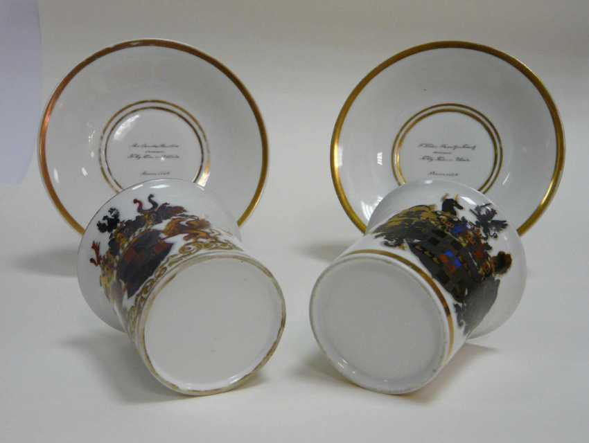 Couple of dedication cups of Bonn in 1846 (for the EC. Free Lord of Wrede) - photo 3
