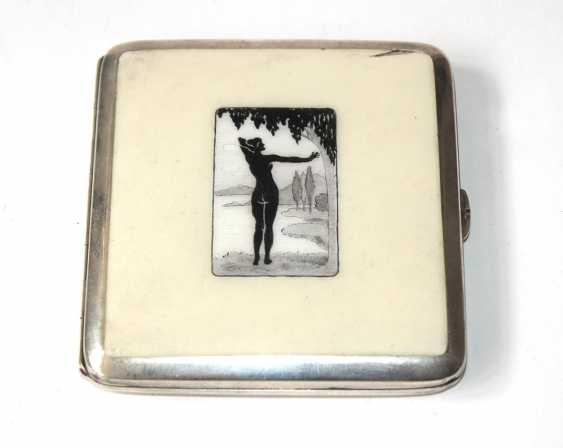 Vienna Art Nouveau Cigarette Case - photo 1