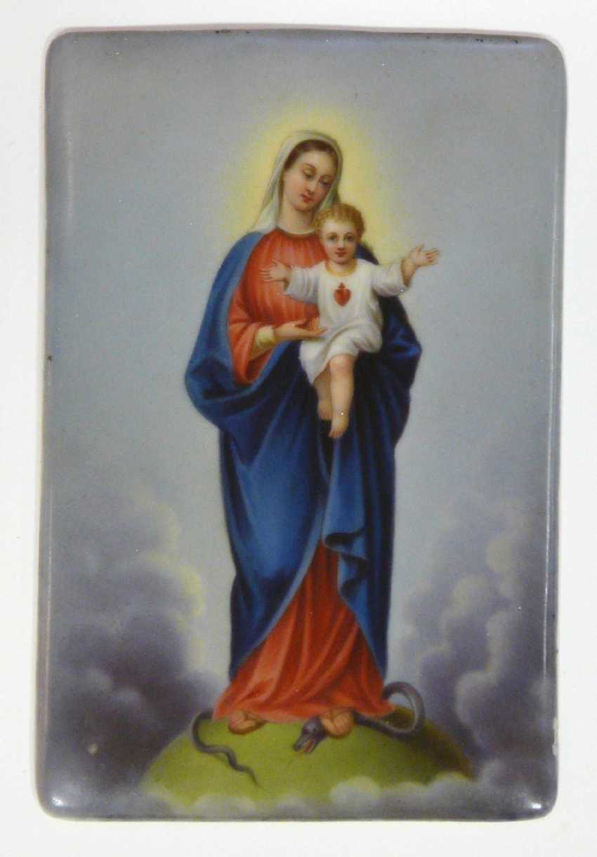 Mother of God boy with the blessing of Jesus - photo 1