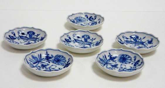 Six Confectionery Bowl Meissen - photo 1